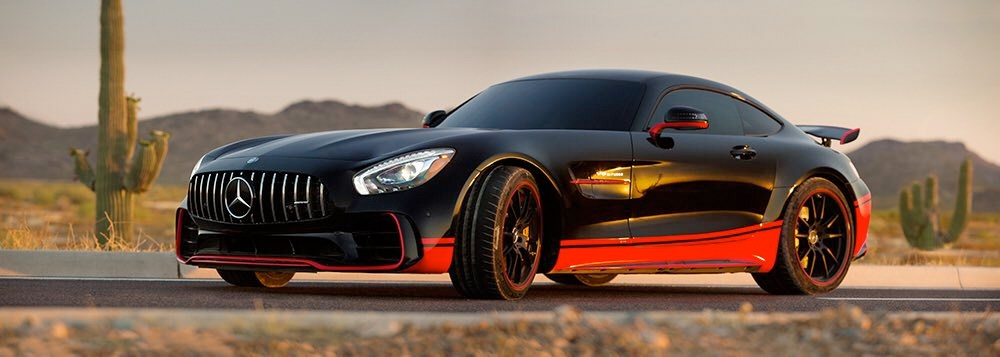 Autobot Drift Mercedes AMG GT R