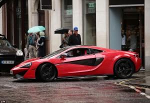 McLaren 570S Transformers The Last Knight