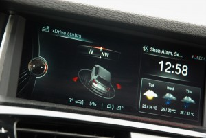 Wheelcorp Premium Driving Circuit BMW X3 Display