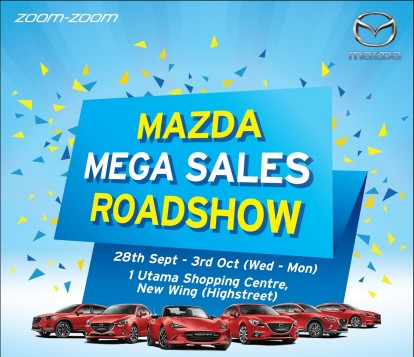 The Mazda Mega Sales Roadshow @ 1 Utama