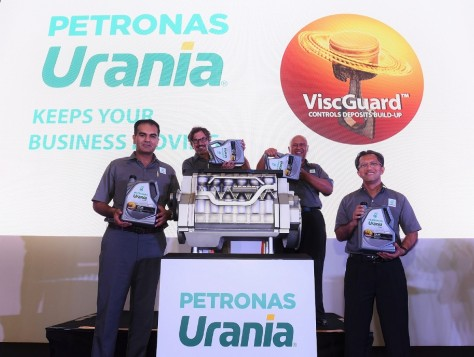 Petronas Launches Urania With ViscGuard™ Commercial Vehicle Lubricant