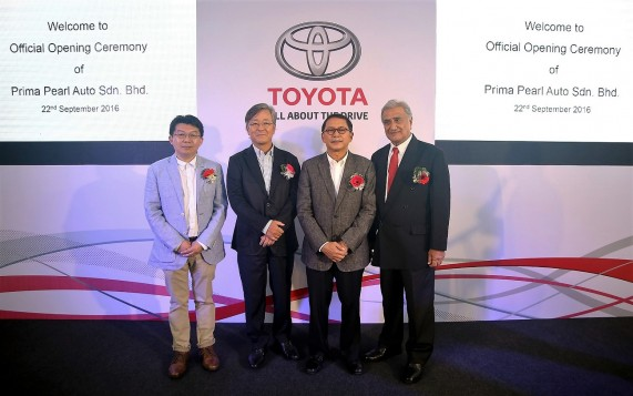 Toyota Opens New Showroom In Penang