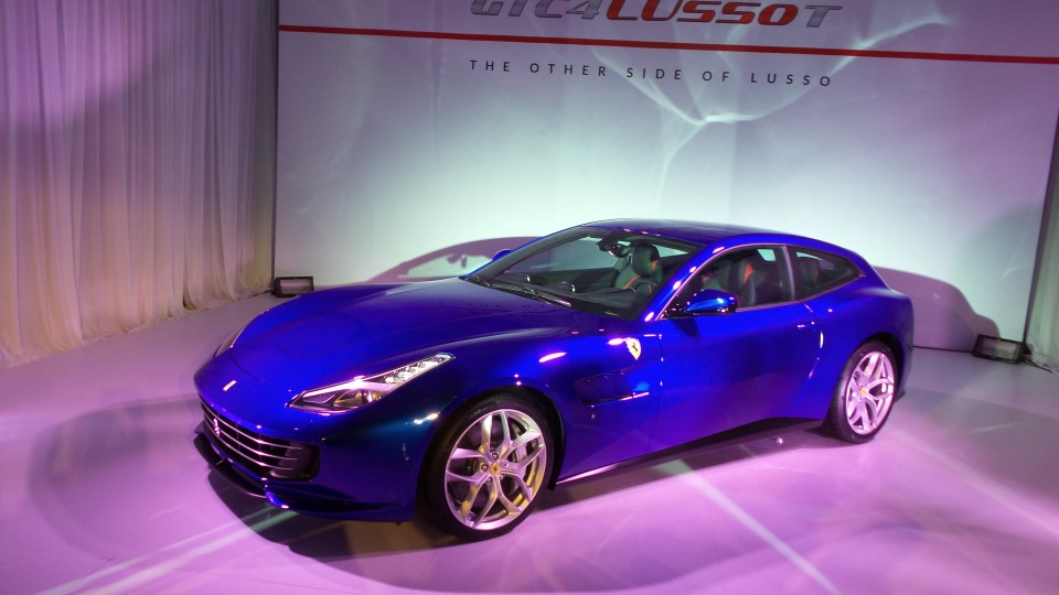 Prompted By The Notion Of A Car With Less Power But More Drivability And  Practicality For Daily Usage, Ferrari Have Put Into The GTC4Lusso T, ...