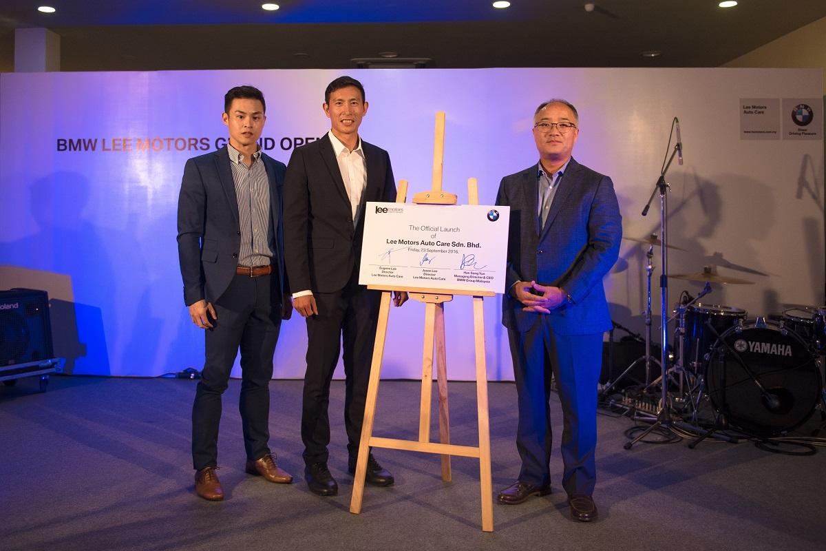A bigger newer 4s dealership for bmw in kedah autoworld for Alor group piscine