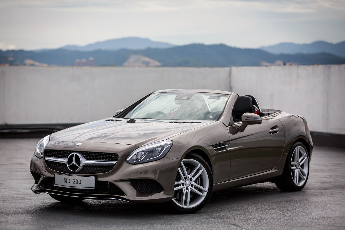 Slc joins mercedes benz malaysia 39 s dream cars collection for Slc mercedes benz
