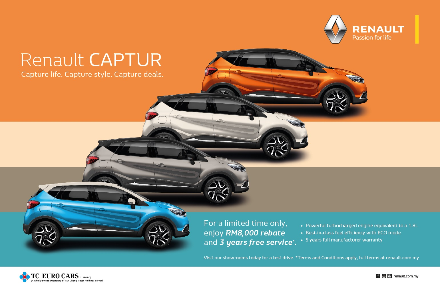 renault captur promotion
