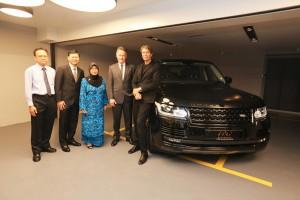 Datuk Aishah Ahmad, Piet Boon, Limited Edition Range Rover Malaysia