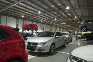 Volkswagen Wearnes Sg Besi 4S - A total of 34  service bays