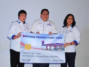 Petron Prepaid Fleet Card Launch Malaysia 2016