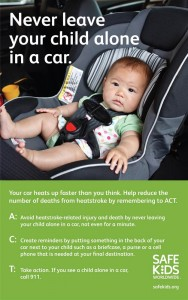 Child heatstroke - ACT