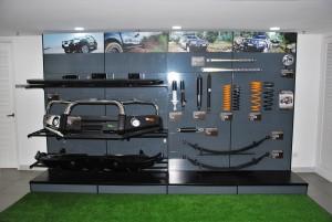 Nissan Navara Ironman 4x4 Accessories Display