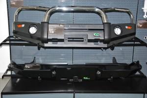 Nissan Navara Ironman 4x4 Bull Bar & Rear Protection Bar