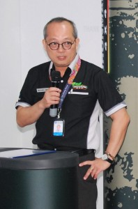 Michael Yao, Tan Chong Ekspres Auto Servis Senior General Manager of After Sales, Spare Parts & Workshop