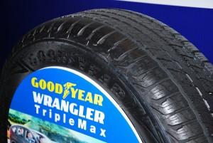 Goodyear Wrangler TripleMax Tire Tread Malaysia