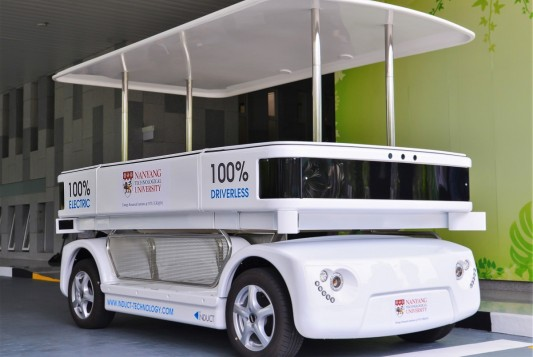 Singapore To Start Driverless Bus Trials