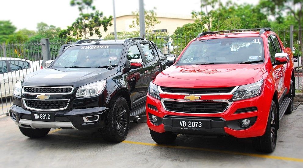 Chevrolet Colorado Old vs New Malaysia