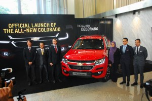 2016 Chevrolet Colorado Malaysia Launch
