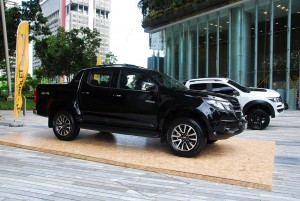 2016 Chevrolet Colorado Malaysia Launch, Black