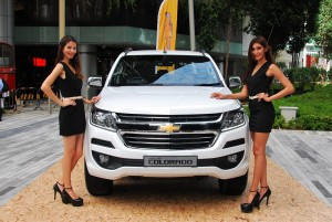 2016 Chevrolet Colorado Malaysia Launch, White