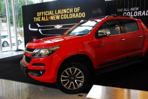 2016 Chevrolet Colorado Malaysia Launch, Red
