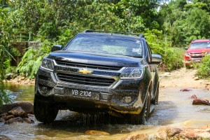 2016 Chevrolet Colorado Malaysia Media Drive, Water