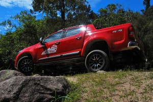 2016 Chevrolet Colorado High Country 2.8L Side