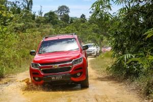 2016 Chevrolet Colorado Malaysia Media Drive Off Road Pahang