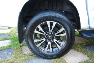 2016 Chevrolet Colorado LTZ 2.5L 18-inch Alloy Wheel