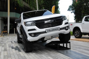 2016 Chevrolet Colorado with optional kit