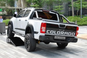 2016 Chevrolet Colorado Malaysia, Optional Accessories