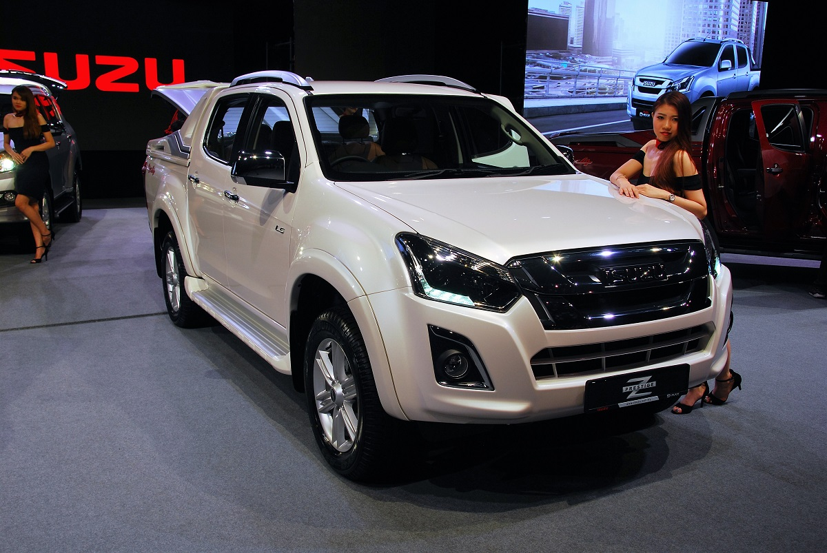 Isuzu Malaysia Facelifts Popular D Max Pick Up Truck