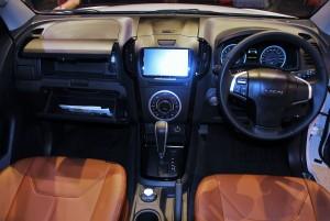 Isuzu D-Max Z-Prestige 2016 Dashboard
