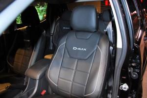 Isuzu D-Max Z-Prestige 2016 Front Seat