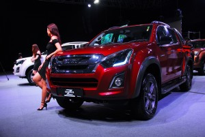 Isuzu D-Max Z-Prestige Adventure Rugged 2016 Front View