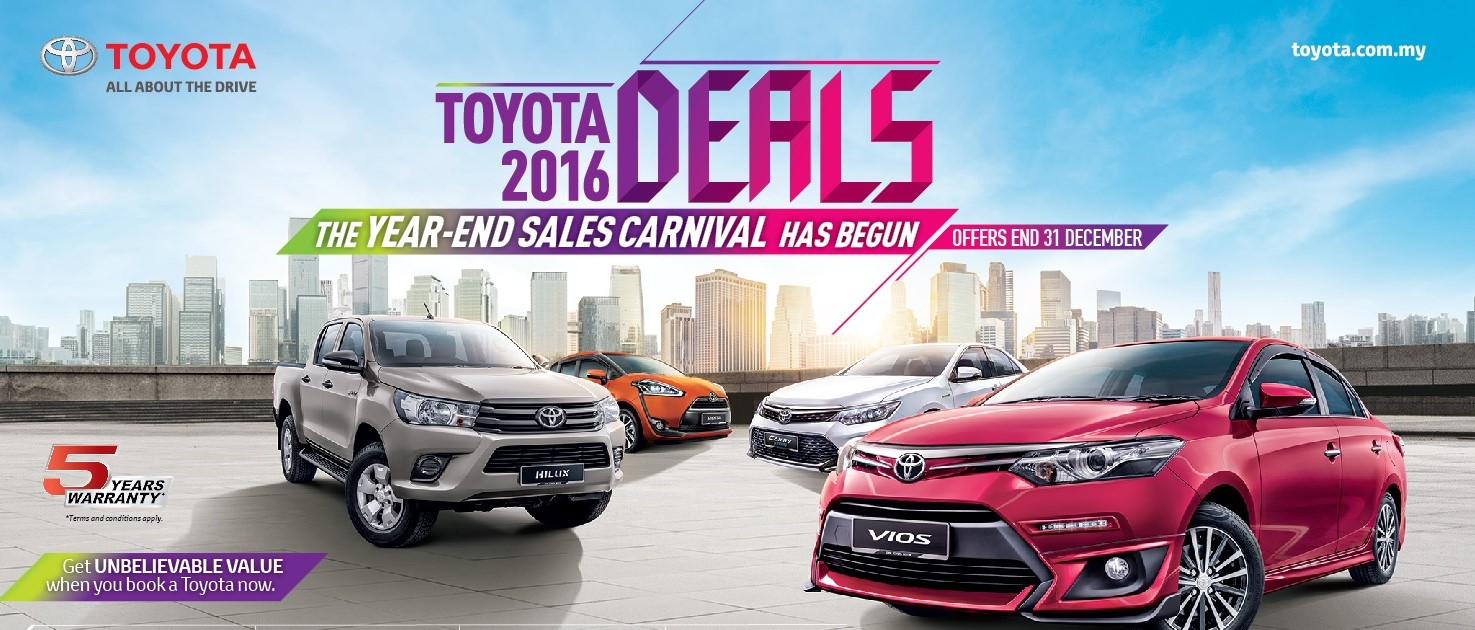 2016 Toyota Year End S Carnival