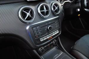 Mercedes-Benz A200 AMG Line Centre Console 2016