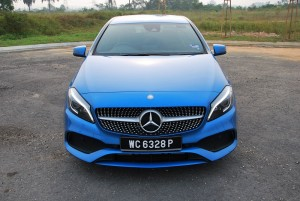 Mercedes-Benz A200 AMG Line Front, Malaysia
