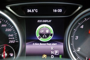 Mercedes-Benz A200 AMG Line Info Display, Malaysia