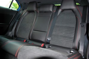 Mercedes-Benz A200 AMG Line Rear Seats 2016 Malaysia