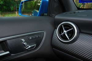 Mercedes-Benz A200 AMG Line Seat Control & Memory Buttons