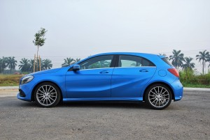Mercedes-Benz A200 AMG Line Side View Malaysia