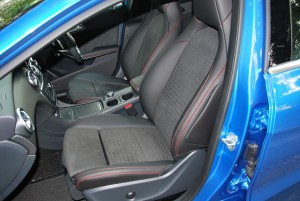 Mercedes-Benz A200 AMG Line Front Seats Malaysia