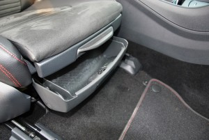 Mercedes-Benz A200 AMG Line Front Seat Storage Malaysia