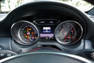 Mercedes-Benz A200 AMG Line Instrument Cluster Malaysia