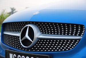 Mercedes-Benz A200 AMG Line Grille Malaysia