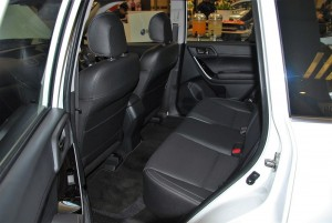 Subaru Forester 2.0i-P Rear Seats 2016