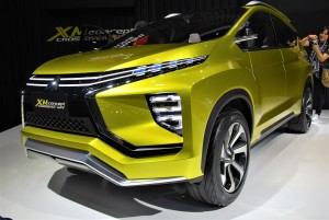 Mitsubishi XM Concept Front Three Quarter View Thailand International Motor Expo 2016