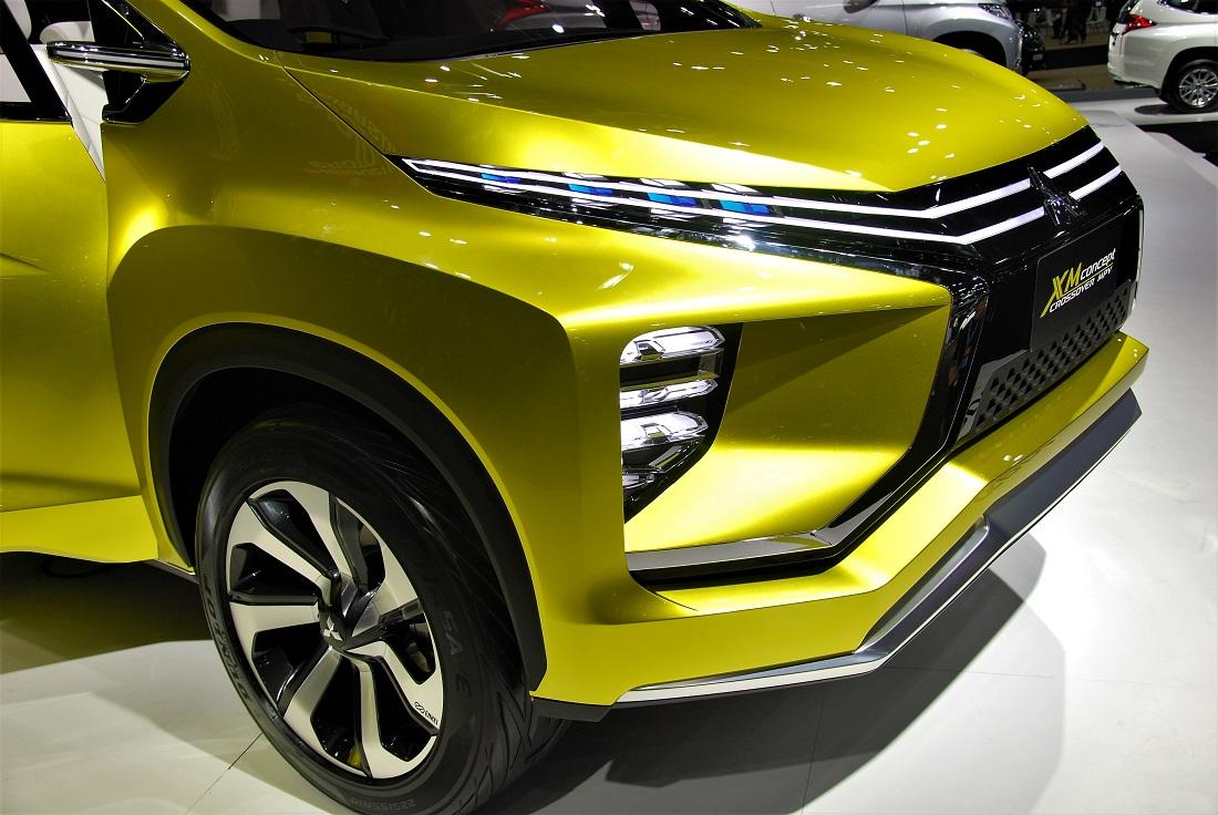 Mitsubishi XM Concept Crossover Thailand International Motor Expo 2016