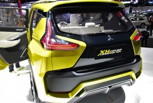 Mitsubishi XM Concept Rear View Thailand International Motor Expo 2016
