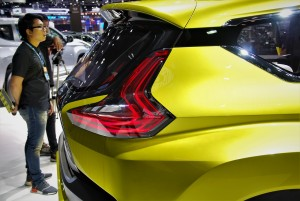 Mitsubishi XM Concept Rear Light Thailand International Motor Expo 2016